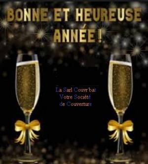 LA SARL COUVR'BAT VOUS SOUHAITE UNE BONNE ET HEUREUSE ANNEE 2019